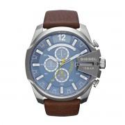 Часовник DIESEL - Mega Chief DZ4281 Dark Brown/Silver