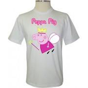 Camiseta Peppa Pig Fada - Coleção Peppa Pig