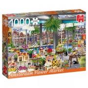 Jumbo Pussel - Amsterdams Blommarknad 1000 Bitar
