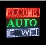 Reclama Luminoasa LED Programabila USB 64x16cm Afisaj Verde
