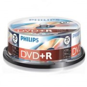 DVD+R Philips 120min./4,7Gb 16X - 25 бр. в шпиндел