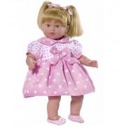 Muñeca Lara con Vestido Lunares - RosaToys Muñecas