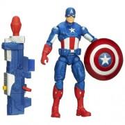 Captain America Super Soldier Gear Shockwave Blast Action Figure
