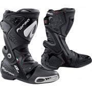 Forma Motorrad-Stiefel lang Motorrad-Schuh Ice Pro Stiefel schwarz 44 schwarz