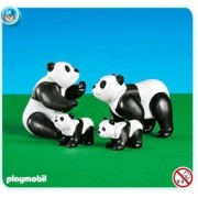 Playmobil Zoo Set #7896 Panda Family
