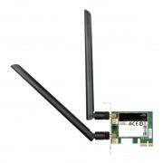 LAN Card, PCI-E, D-LINK DWA-582, Wireless AC1200, DualBand (DWA-582)