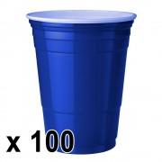 StudyShop 100 st. Blue Cups Blå Muggar (16 Oz.)