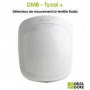 DELTA DORE Détecteur de mouvement bi-lentille Radio - DMB TYXAL+ Delta Dore 6412286
