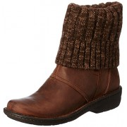Clarks Women's Avington Style Brown Boots - 3.5 UK/India (36 EU)