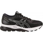 asics Gel-Nimbus 21 Shoes Dam black/dark grey US 6 EU 37 2019 Löparskor för asfalt