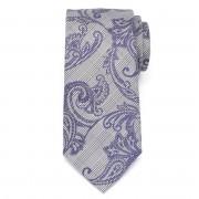 Férfi klasszikus nyakkendő mikroszálas (minta 1277) 7982 -ban szürke szín