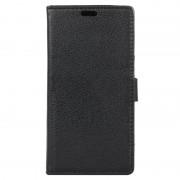 ZTE Axon 7 mini Textured Wallet Case - Black