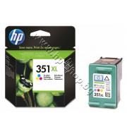 Касета HP 351XL, Tri-color, p/n CB338EE - Оригинален HP консуматив - касета с глава и мастило