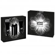 Mont Blanc Emblem 100ml Apă De Toaletă + 100ml After Shave Balsam + 100ml Gel de duș Iii Set