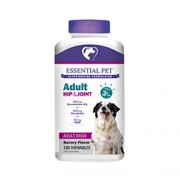 ADULT HIP & JOINT WITH GLUCOSAMINE 500mg & CHONDROITIN 200mg FOR DOGS (Ages 3+) (Savory Flavor) 120 Chewables