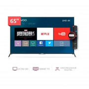 Televisor LED 65'' Ultra HD Smart TV Daewoo U65T870BTS