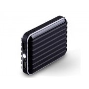 Momax iPower Go External Battery 8800mAh with Dual USB Sockets and LED Light - Samsung Power Bank (Classic Black)