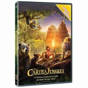 Jungle Book:Neel Sethi, Bill Murray, Ben Kingsley - Cartea junglei (DVD)