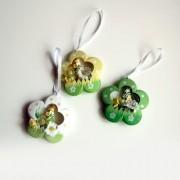 Decorațiuni de Paște agățătoare - floare, 3 buc