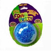 ERA INNOVATIVE GIFTING Glow in The Dark Foam Putty Fluffy Non Dryfor Kids Christmas Gift Creative Art Activities(Blue)