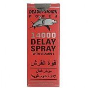 Deadly Shark Power Delay Action Spray For Men