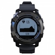 S928 GPS Tracker Bluetooth Deportes Smart Watch banda al aire libre - Negro