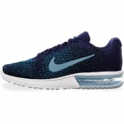 Tenis Nike Air Max Sequent 2 - 852461405 - Azul - Hombre