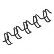 Draadbindruggen voor wirebinden - Grijs/metallic