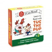 Learn to Read with Tug the Pup and Friends! Box Set 3: Guided Reading Levels E-G, Paperback