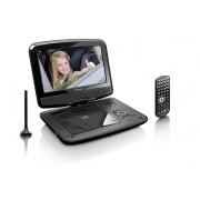 """Lenco DVP-9413 Portable DVD player Convertibile 9"""" Nero lettore DVD/Blu-Ray portatile"""