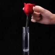 Difuzor aromaterapie in forma de trandafir cu functie de umidificator camera alimentare usb