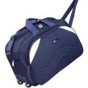 TEXON (Expandable) Waterproof Polyester Lightweight 40 L Luggage Blue Travel Duffel Bag with 2 Wheels - TXN29B Travel Duffel Bag(Blue)