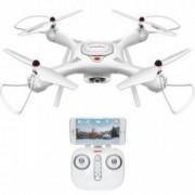 Drona Syma X25 PRO Cu GPS Si Follow Me Camera HD WIFI Cu Transmisie Pe Telefon - Alb