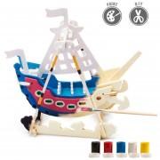 3D Puzzle De Pintura Forma De Swing Boat
