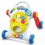 Antemergator Muzical First Steps Happy Baby - Multicolor