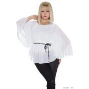 Candy Moda Kimono-Shirt Wit