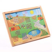 Skillofun Number Scene (1-20) - Magnetic Twin Play Tray