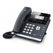 Yealink SIP-T42S Vaste VoIP-telefoon Handsfree, Headsetaansluiting Verlicht Zwart