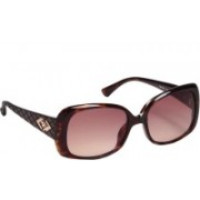 Tommy Hilfiger Round Sunglasses(Brown)