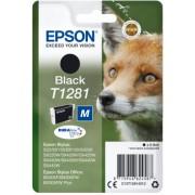 """Tinteiro Epson T1281 Preto Original Série Raposa (C13T12814012)"""