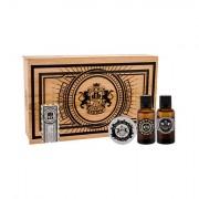 DEAR BARBER Beard Oil darovni set ulje za brado 30 ml + vosak za brkove Moustache Wax 25 ml + toaletna voda With Confidence 30 ml