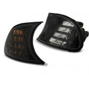 Přední blinkry, směrová světla BMW E46 99-01, Coupé, Cabrio - LED černé