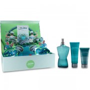 Jean Paul Gaultier Le Male Комплект (EDT 125ml + SG 75ml + AS Balm 50ml) за Мъже