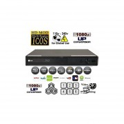 LG BP255 Multi System All Zone Region Free Blu Ray DVD Player + 6FT HDMI Cable & M-System Plug Adapter Bundle Package