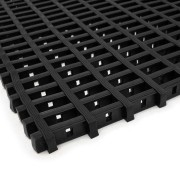 Černá olejivzdorná protiskluzová průmyslová univerzální rohož - 500 x 120 x 1,2 cm (80000829) FLOMAT