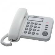 Стационарен телефон Panasonic KX-TS520, бял 1010023