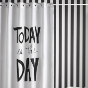 Perdea dus mesaj - Today is the Day