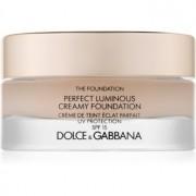 Dolce & Gabbana The Foundation Perfect Luminous Creamy Foundation maquillaje iluminador en crema SPF 15 tono 75 Bisque 30 ml