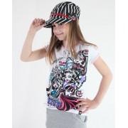 tricou cu tematică de film bărbați copii Monster High - Monster High - TV MANIA - MOH 556