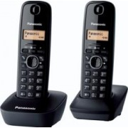 Telefon DECT Panasonic Negru KX-TG1612FXH
